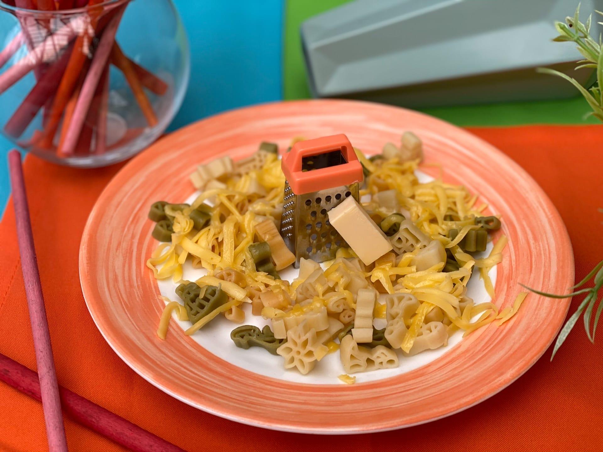 Макарошки «Дисней» с сыром